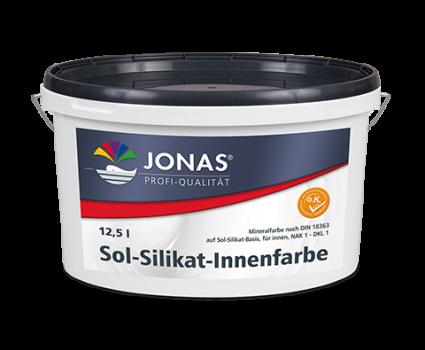 Sol-Silikat-Innenfarbe