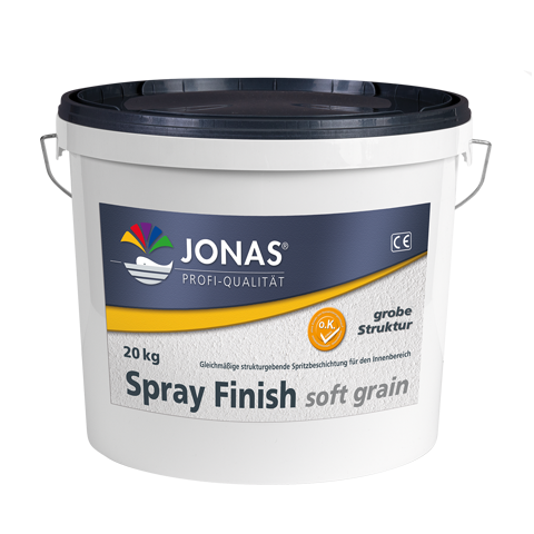 Spray Finish soft grain grob