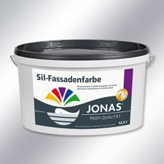 Sil-Fassadenfarbe siloxanverstärkt